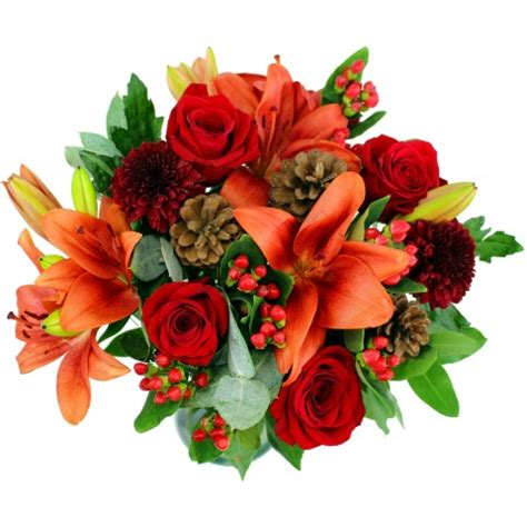 new year flowers uk festive cheer flower bouquet free uk delivery for