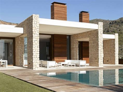 contemporary homes plans interior exterior ideas for villa plans