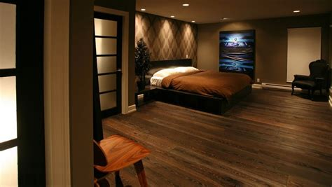 master bedroom wood floors contemporary master bedroom with high ceiling by pablo