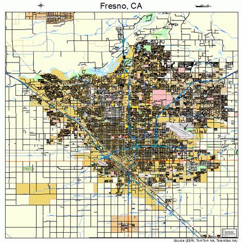 california map fresno fresno california map 0627000