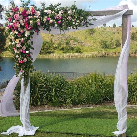 Wedding Arch Material by Wedding Arch Hire Backdrops Arbours Weddings Melbourne