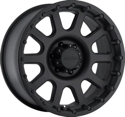 Lug Pattern For Jeep Pro Comp Series 7032 1 Flat Black Finish Alloy Wheel