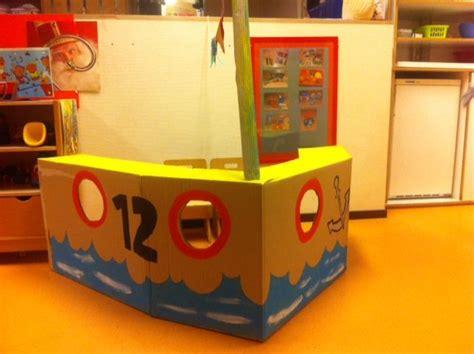 zeilboot surprise sinterklaas sinterklaas boot van kartonnen doos sinterklaas