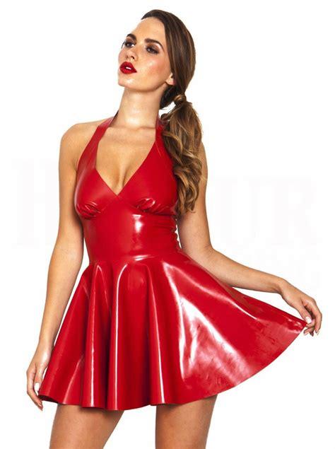 Dress Fit L Pl plus s m l xl size s backless halter pvc a line dress fancy bodycon catsuit