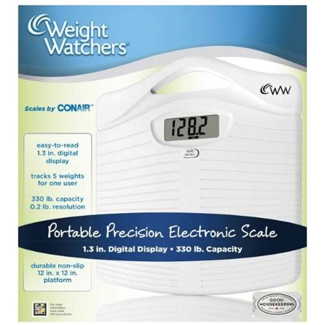 Weight Watchers Precision Electronic Scale By Conair by Weight Watchers By Conair Precision Electronic Scale New