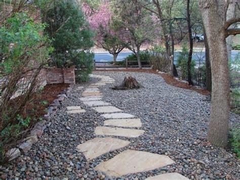 river rock landscaping designs youtube