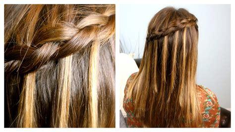 cute girl hairstyles dutch braid diy dutch waterfall braid cute girls hairstyles youtube