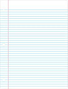 lined notebook stationary paper free stationery
