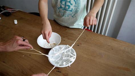ausgefallene deko deko spinne aus marshmallows