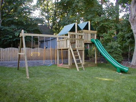 diy backyard fort gemini diy wood fort swingset plans jack s backyard