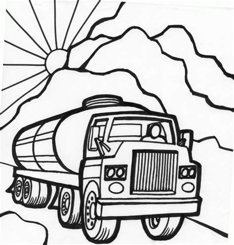 Coloring Pages Cars And Trucks free printable car coloring pages 8 image