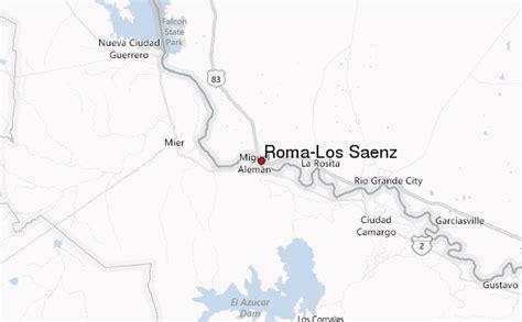 roma texas map roma los saenz location guide