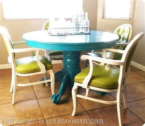17 best ideas about painted kitchen tables on