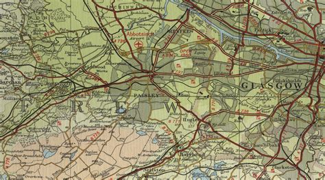 map of paisley paisley map