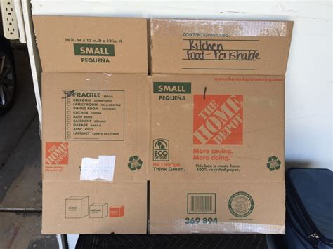 home depot small moving box letgo home depot moving boxes in myrtle sc