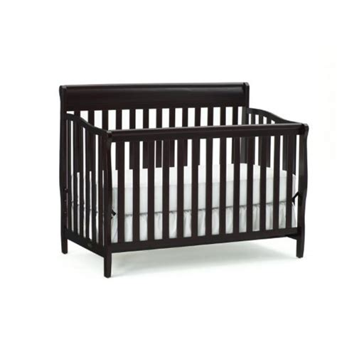 Graco Stanton Convertible Crib Reviews Graco Stanton 4 In 1 Convertible Crib Espresso 239 99