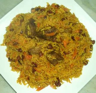 the art of uzbek cuisine: mayizli palov (raisin pilaf)