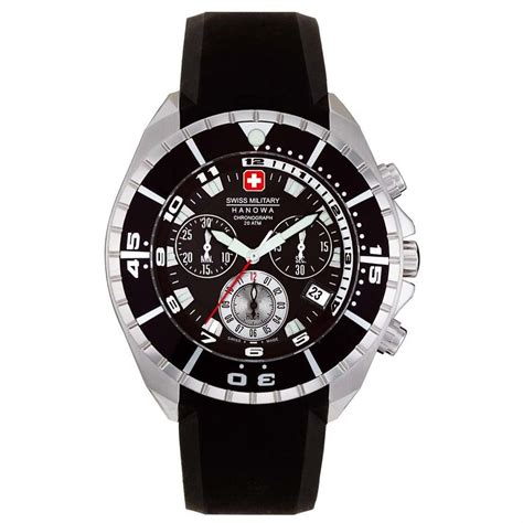Swiss Navy 8932 Black swiss quot sealander quot 190073 watches at sportsman s guide