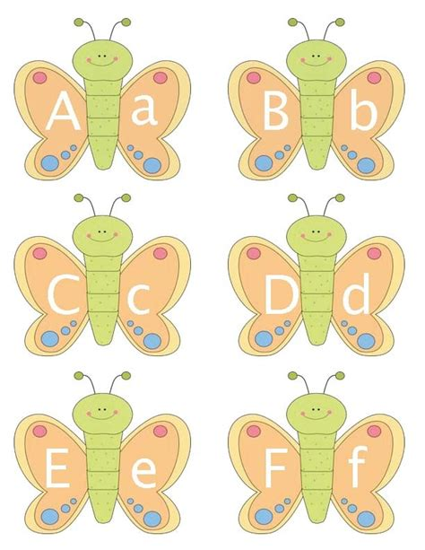 printable letters with butterflies butterfly alphabet cards freebies by mail free stuff