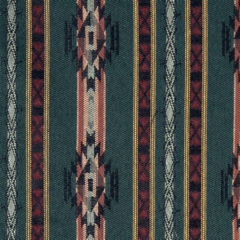 southwestern upholstery fabrics striped southwest navajo style upholstery fabric by the