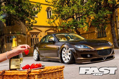 mazda rx   bentley wheels fast car
