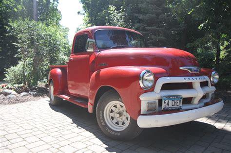 truck restored restored 1954 chevrolet custom truck for sale