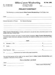 Construction Bid Sles by Contracts Iowa Wood Furniture Restoration Repair