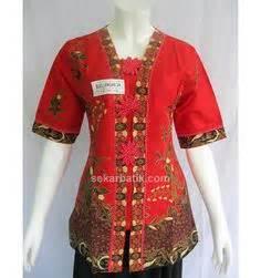 Blouse Batik Wanita I Blus Batik I Blus Kerja Wanita Batik Ratri 5 1000 images about on waiter restaurant uniforms and restaurant