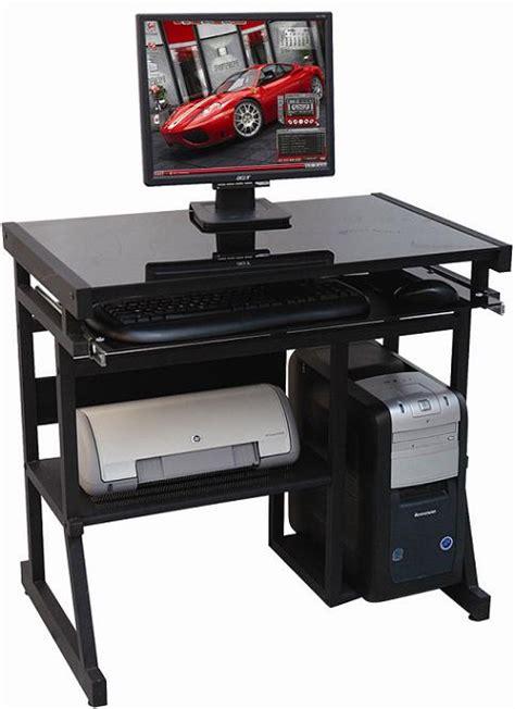 computer table design disain meja komputer modern