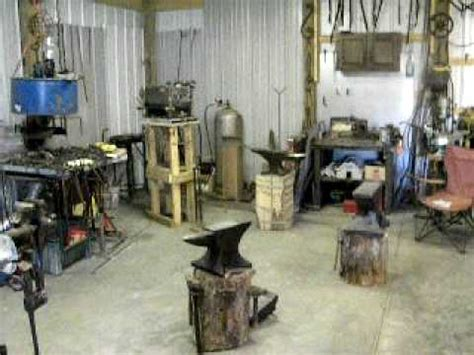 "tour of my blacksmith shop ""the ashforge"" youtube"