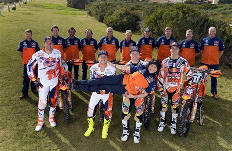 Ktm Factory Team Teamshooting Bull Ktm Motocross Factory Team 2014