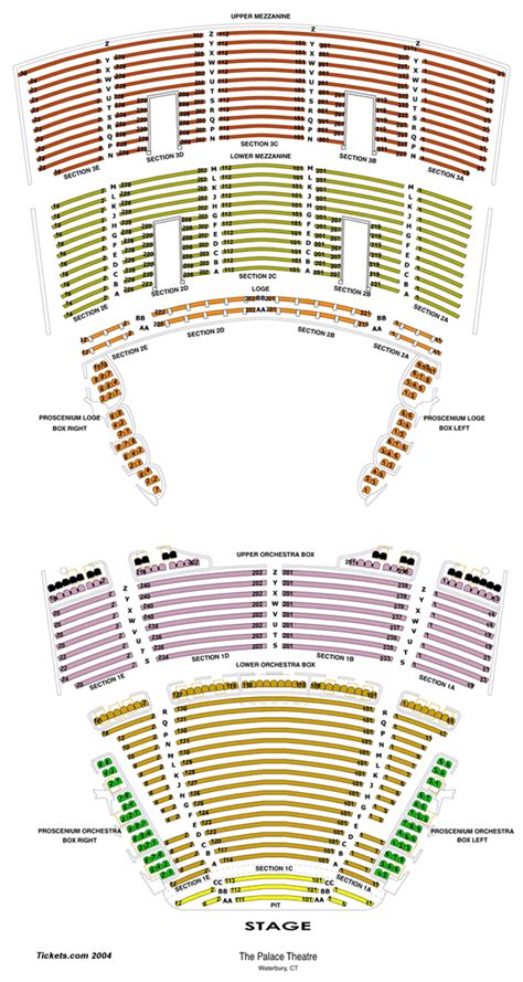 united palace theatre seating capacity seating chart palace theater waterbury ct brokeasshome