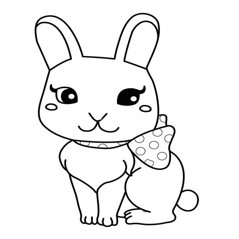 bunny ears pages coloring pages