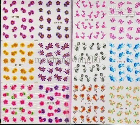 Nail Sticker Water Decal Stiker Kuku Nail M157 alat dan bahan untuk membuat nail beserta fungsinya
