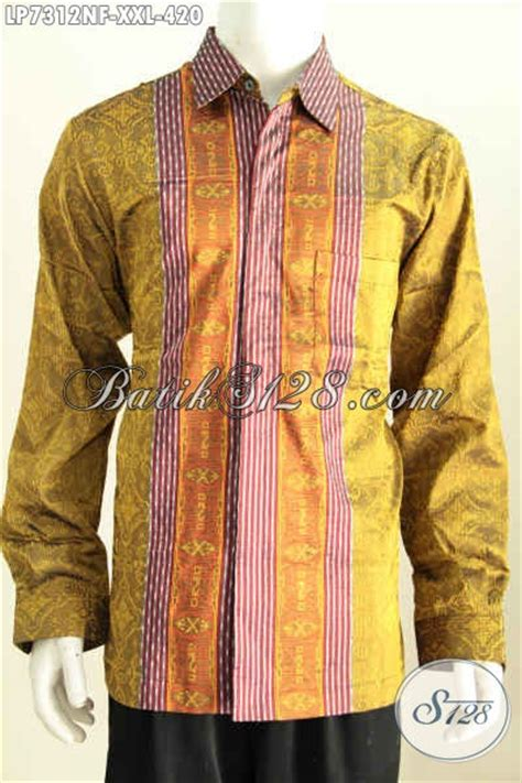 Mukena Batik Agung produk kemeja tenun terkini hadir dengan bahan kwalitas bagus desain motif mewah lengan panjang