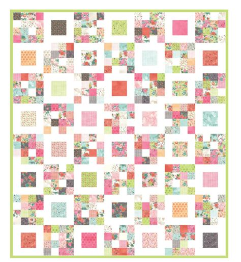 Charm Squares Quilt Patterns by Free Charm Pack Quilt Patterns U Create