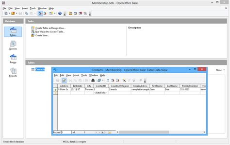 open office database templates apache openoffice t 233 l 233 charger