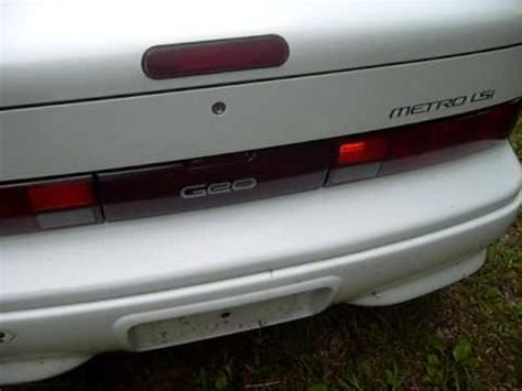 white 93 geo metro convertible for sale youtube
