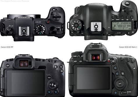Should I Get the Canon EOS RP or the EOS 6D Mark II?