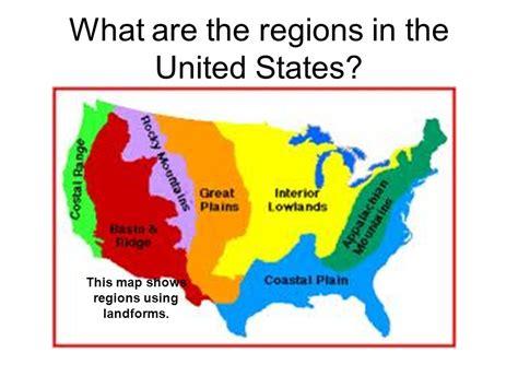 usa landform map united states landform regions thinglink
