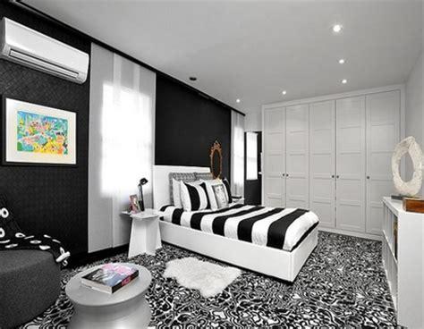 desain kamar hitam putih desain kamar tidur bernuansa hitam putih desain rumah