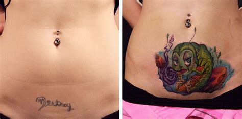 tattoo nightmares antes y despues creative before and after tattoos transform bad body art