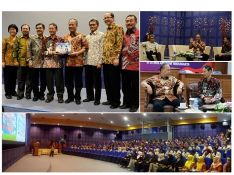 Pt Mba Yogyakarta by Menteri Ristek Dan Dikti Berkunjung Ke Stmik Amikom