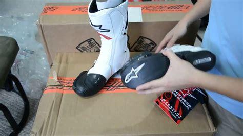 Sale Sepatu Touring Alpinestars Stabilo detail review sepatu kulit touring alpinestars white