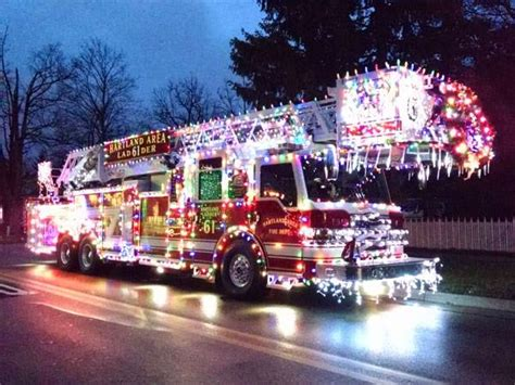 trucks decorated for christmas trucks decorated for the holidays 2015 apparatus