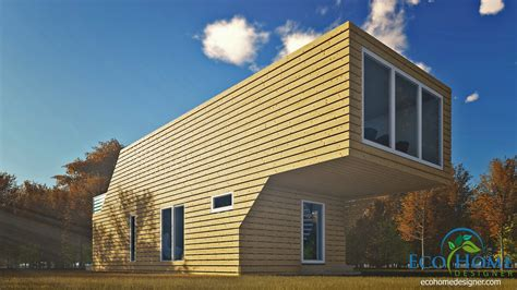 www home sch12 4 x 40ft storey cantilever home eco home