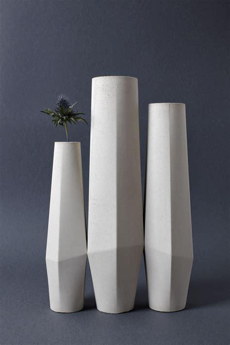 Concrete Vase marchigue concrete vases collection preview ventura