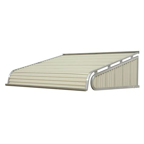 aluminum door awnings nuimage awnings 3 33 ft 1500 series door canopy aluminum