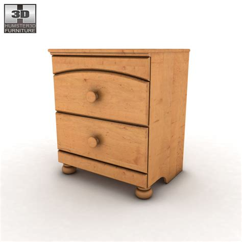 Bunk Bed Nightstand Stages Nightstand 3d Model Hum3d