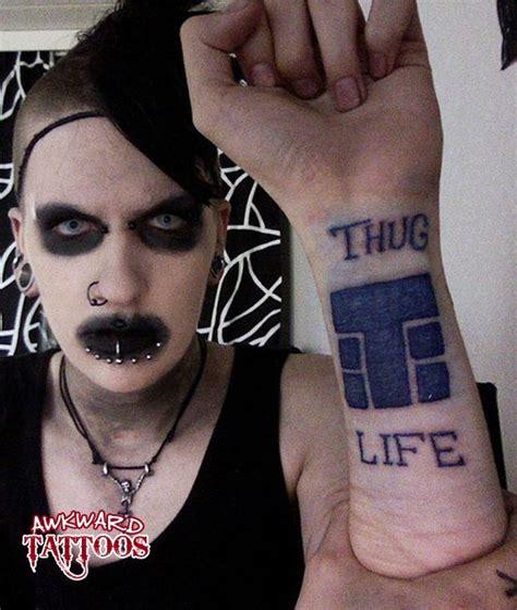 tupac thug life tattoo thug tattoos